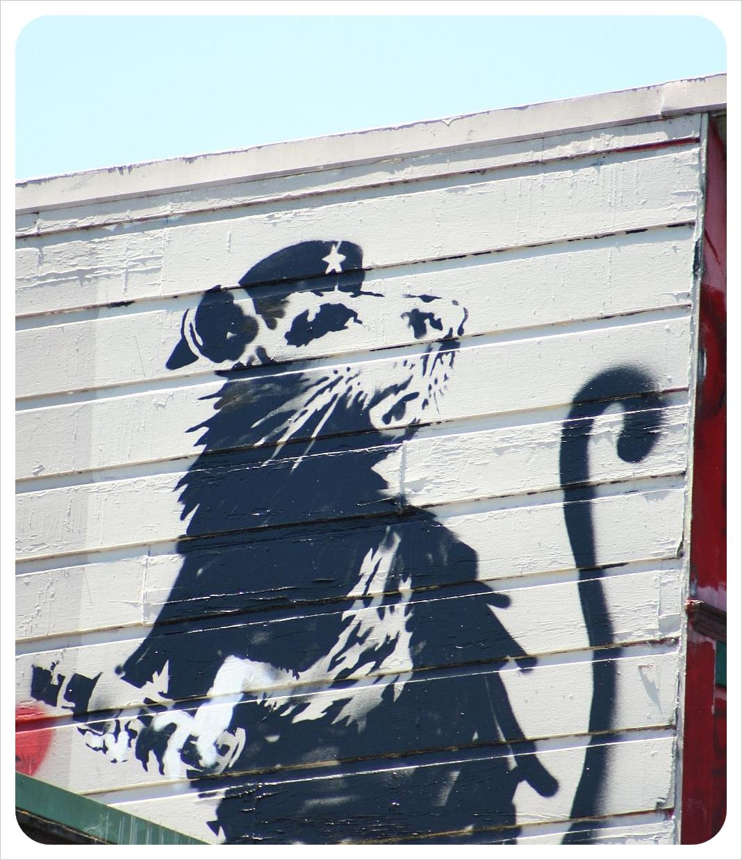 Banksy in San Fran 2