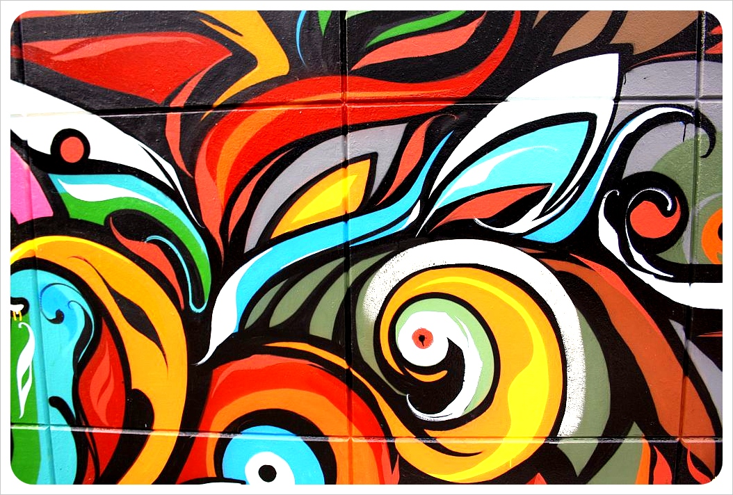 new stylish graffiti graffiti mural