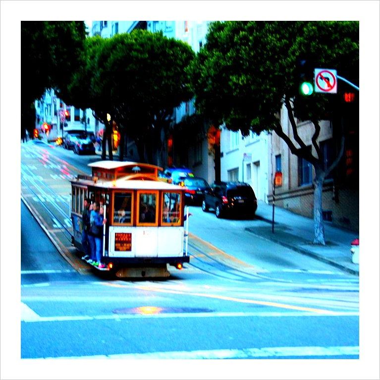 ride on a cable car in San Francisco