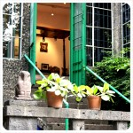 Entrance to Frida's bedroom