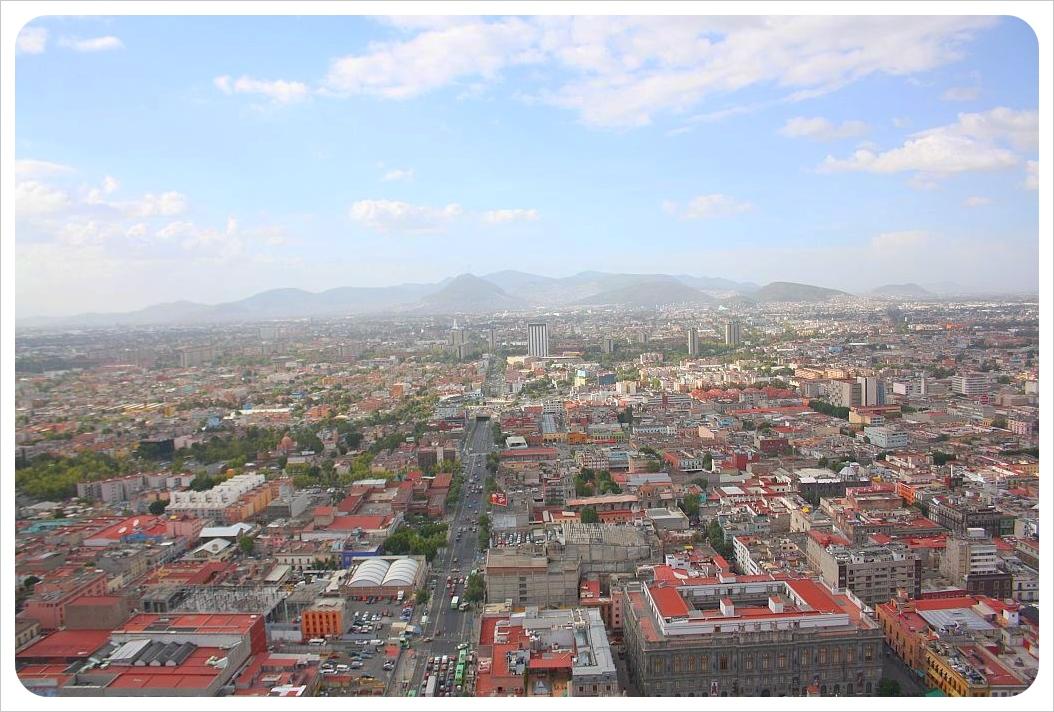 Torre Latinoamericano views