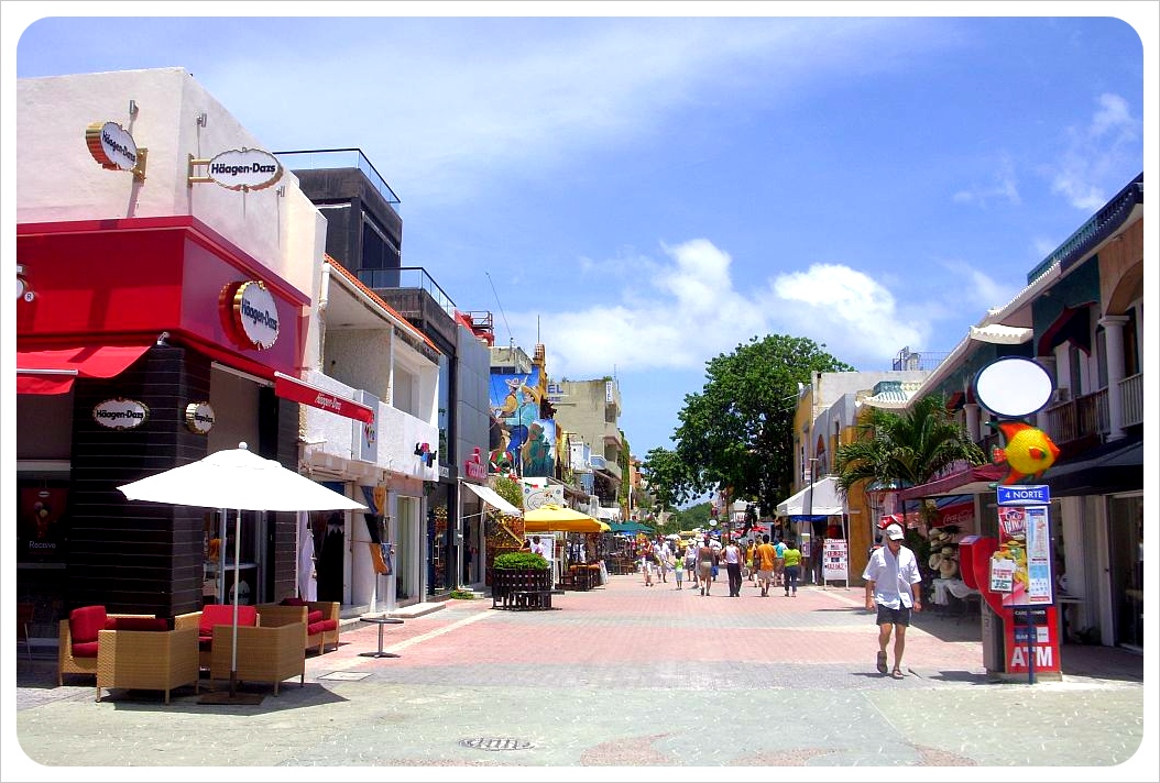 playa del carmen fifth avenue