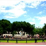 Zocalo Fountain & Benches