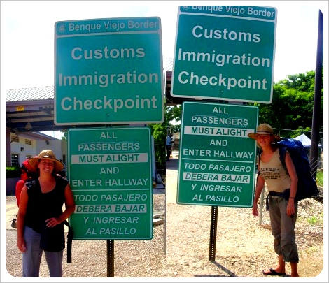 Crossing the Border Belize – Guatemala