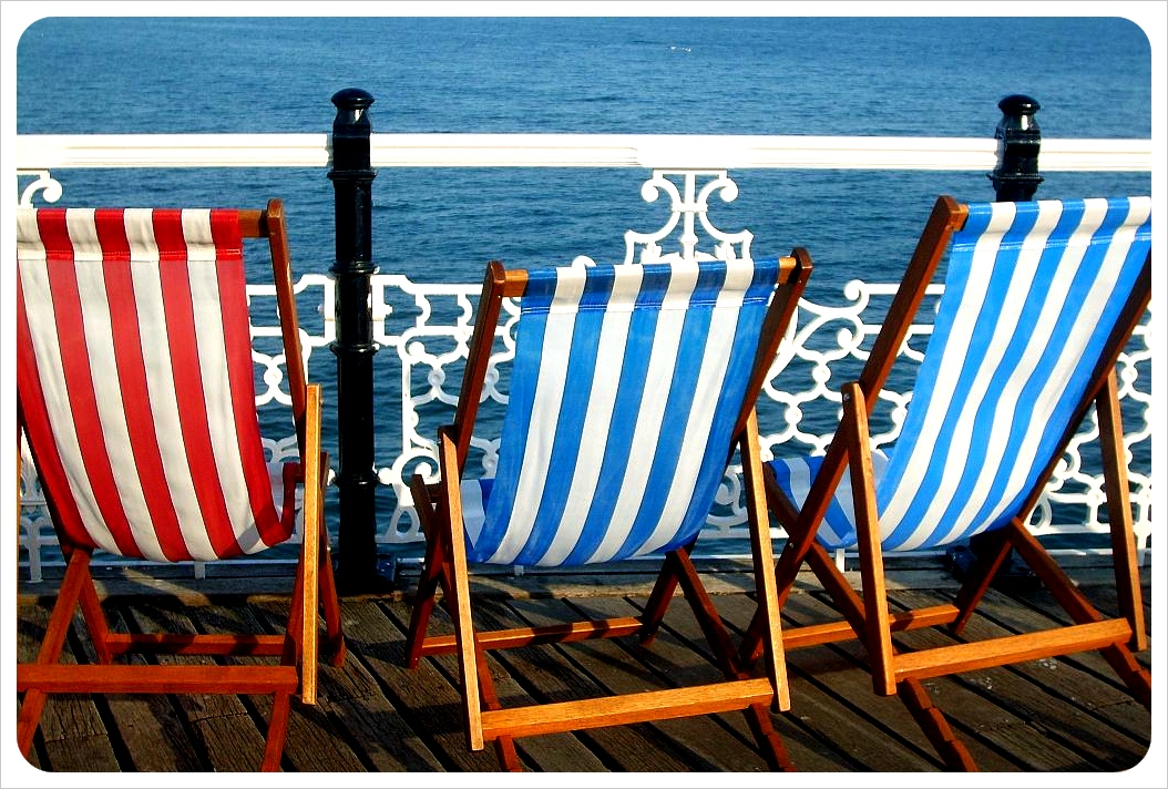 Brighton beach chairs