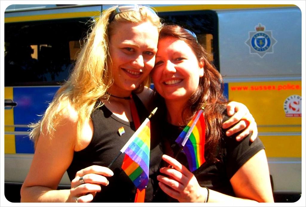 Dani & Jess at Chicago Pride