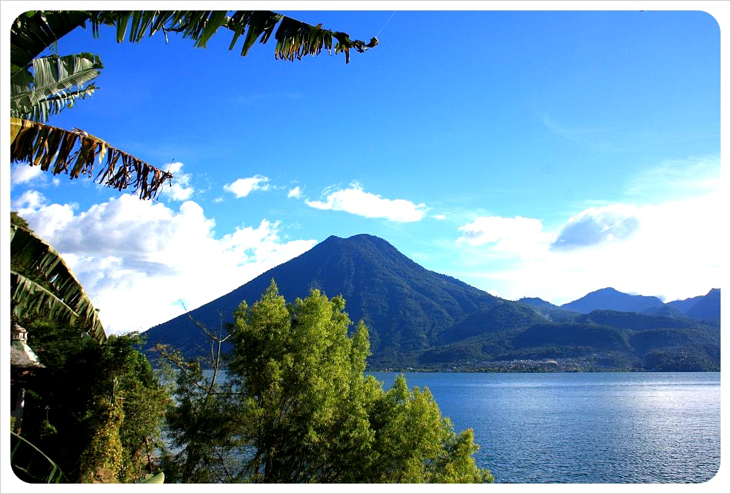 Lake Atitlan Volcano San Pedro