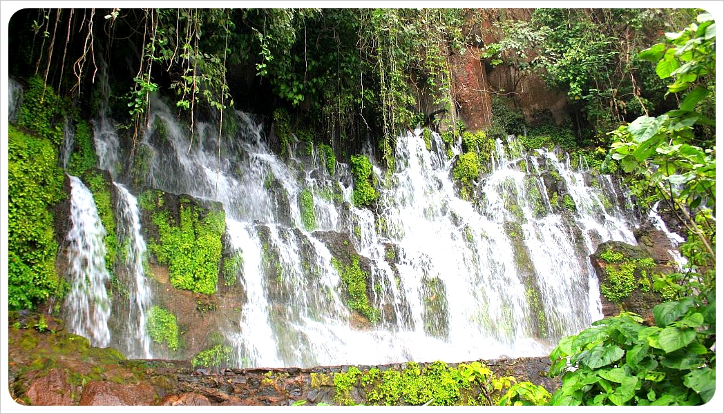 Waterfall Juayua, El Salvador