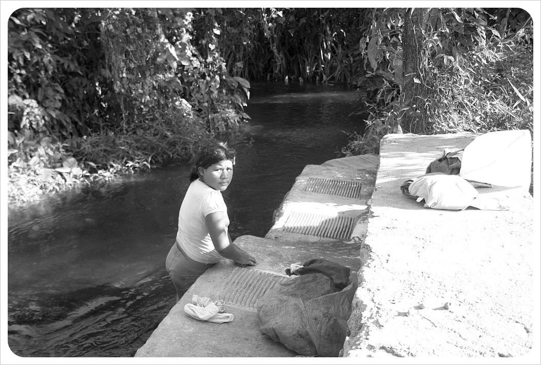 Laundry on Ometepe Nicaragua