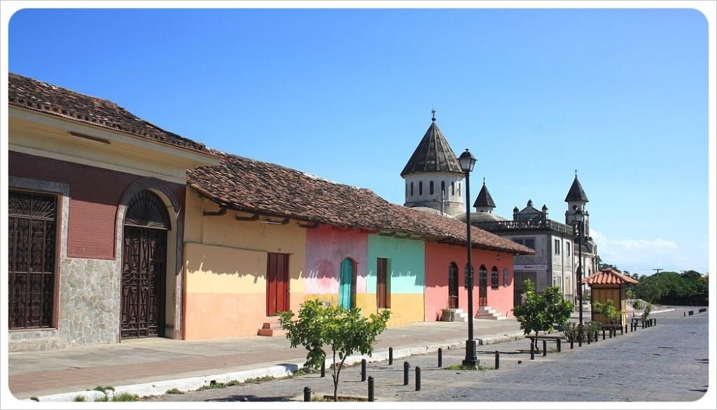 Calle Calzada Granada Nicaragua