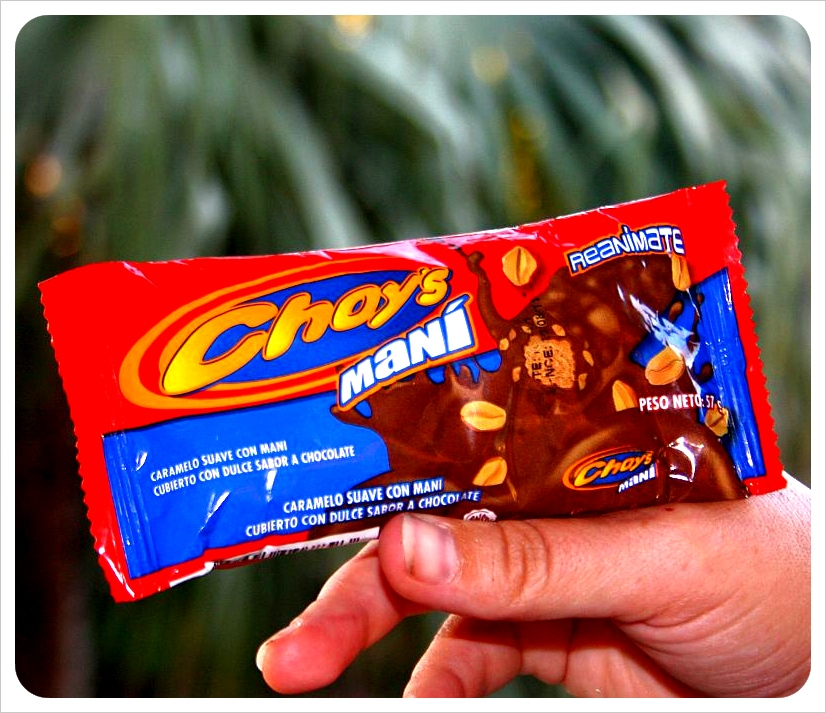 Choys Mani chocolate bar