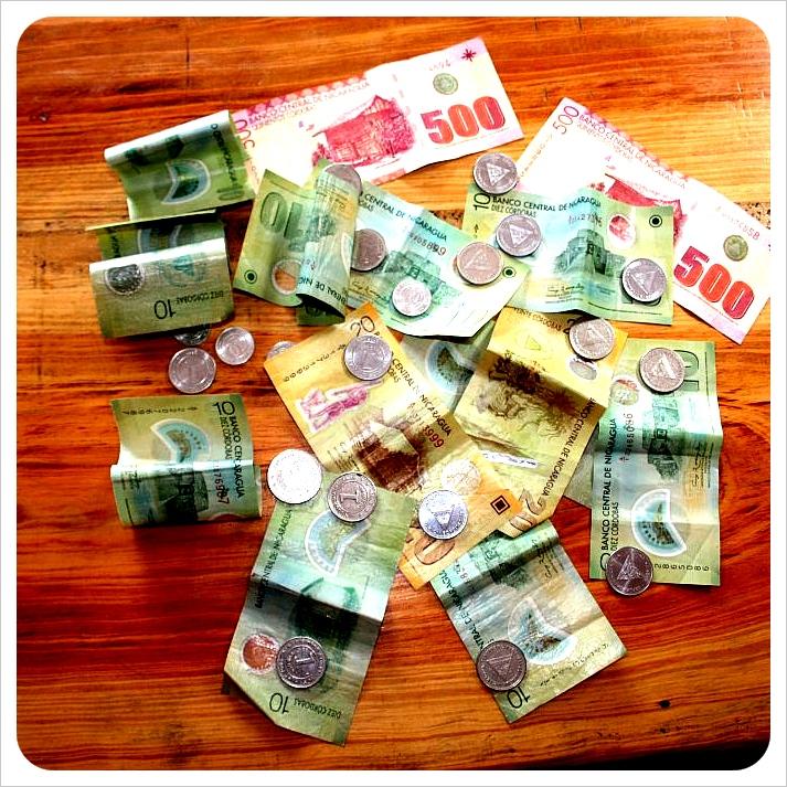 Nicaraguan Money Cordobas