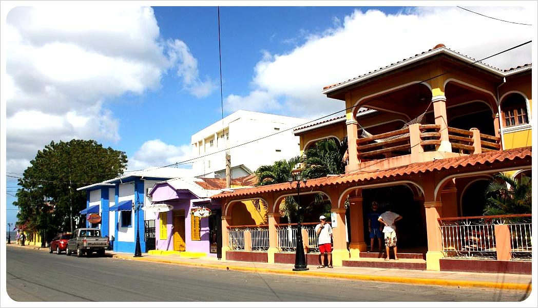 San Juan del Sur street