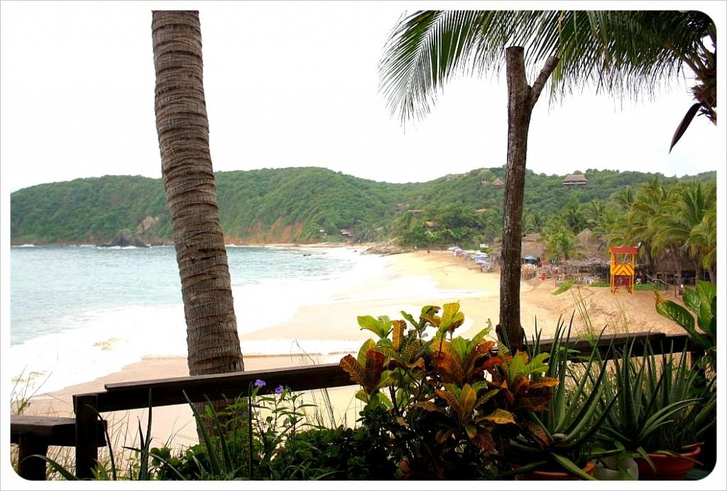 View from Posada Ziga Mazunte