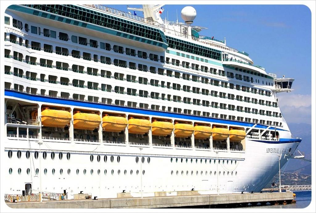 Adventure of the sea cruise ship