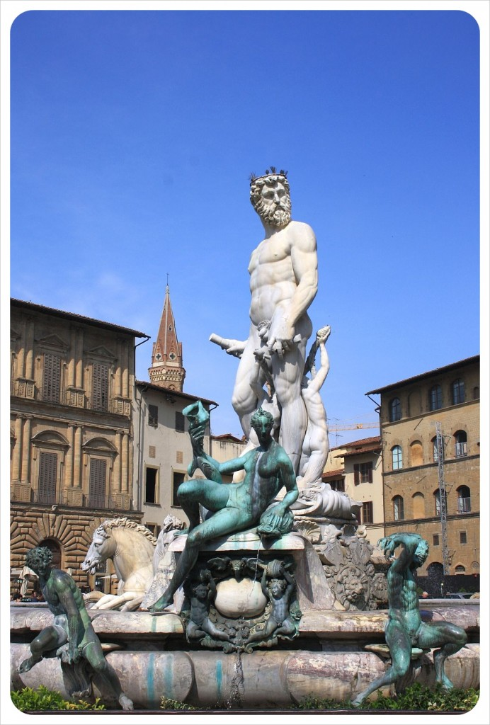 Fountain of Neptune by Bartolomeo Ammannati, Florence, Italy