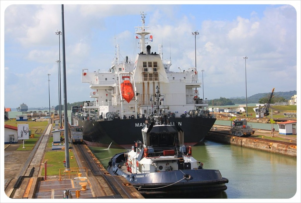 Gatun locks Panama