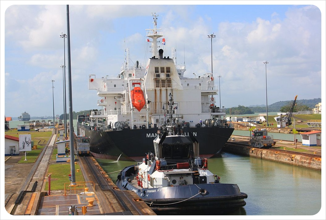 Gatun locks Panama