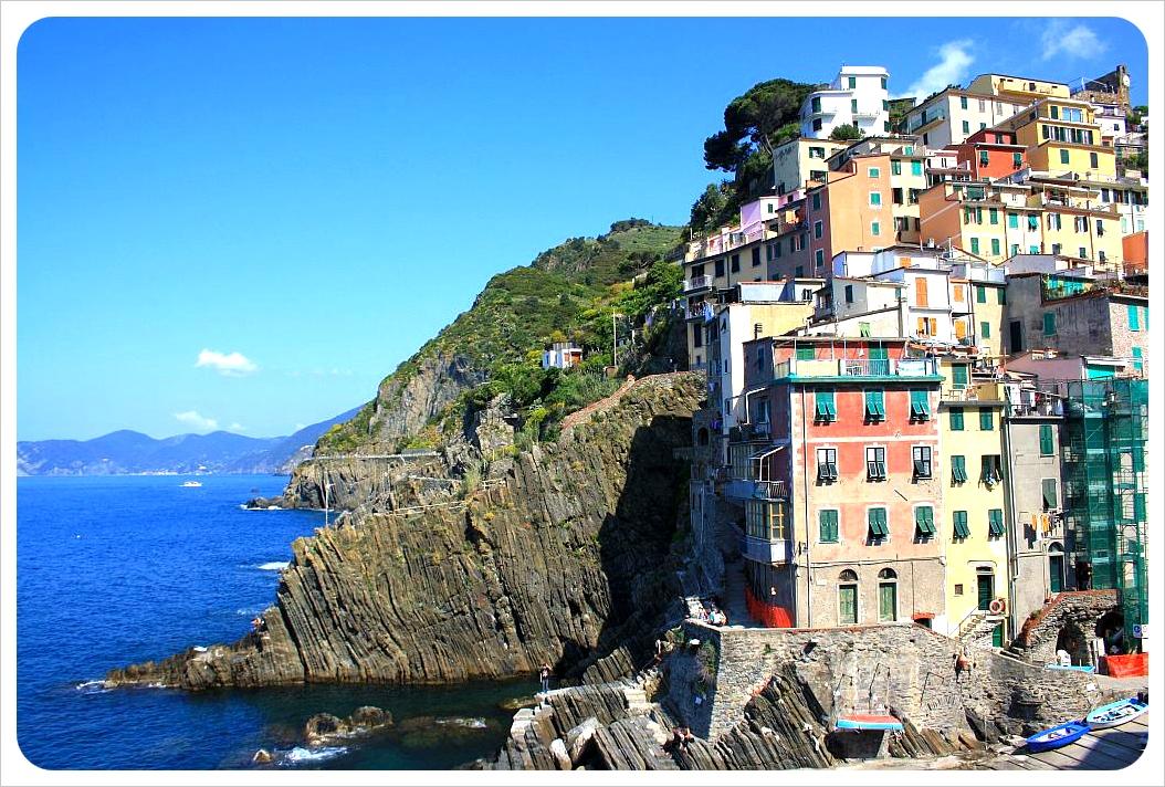 Riomaggiore village Cinque Terre Italy