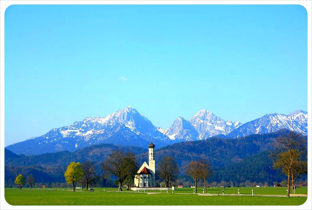 Church near Neuschwanstein