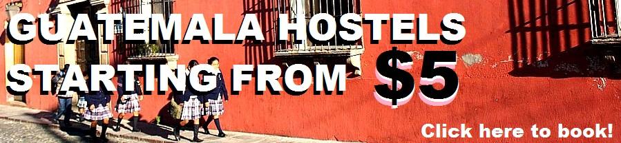 Guatemala hostels