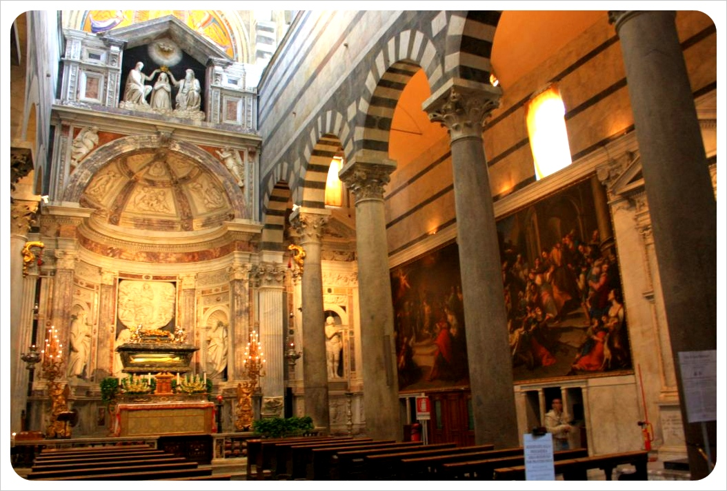 italy church inside