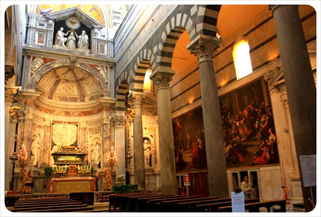 italy church inside