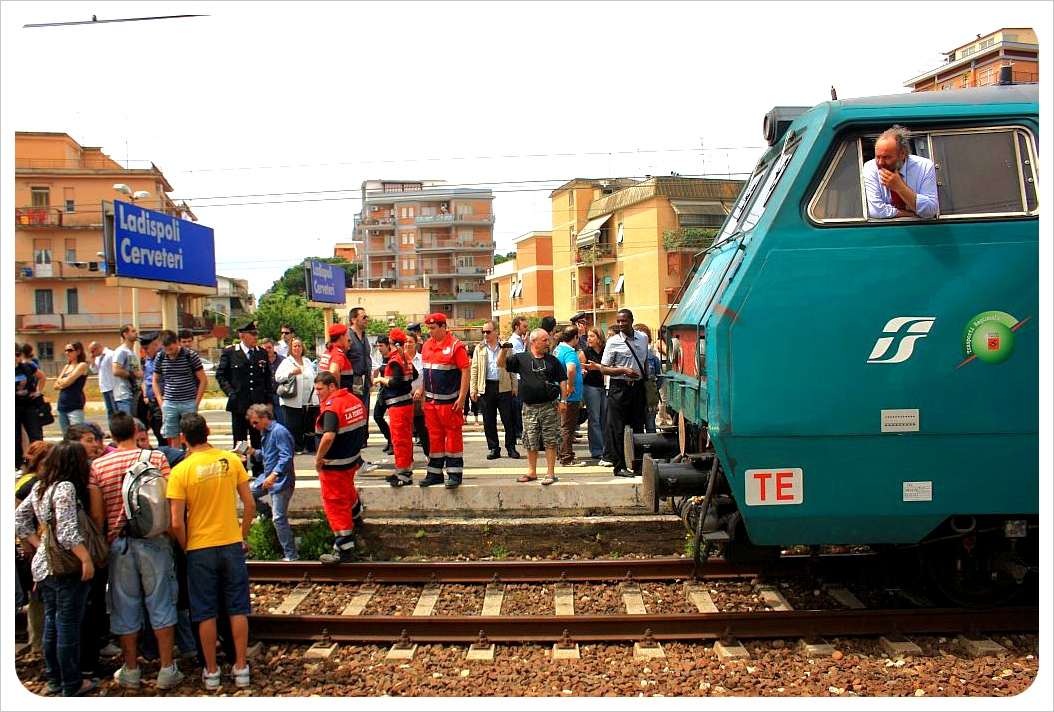 italian train strike