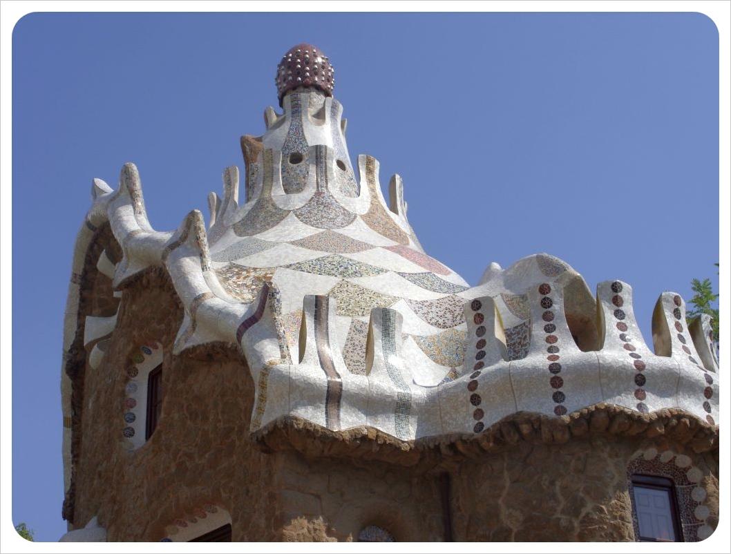 Barcelona gaudi park guell