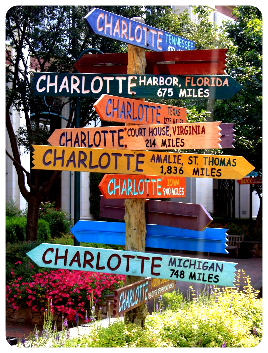 Charlotte road signs