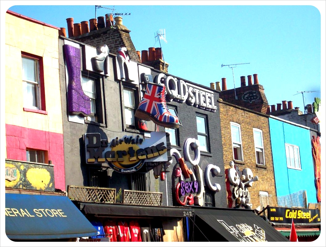 London Camden High Street