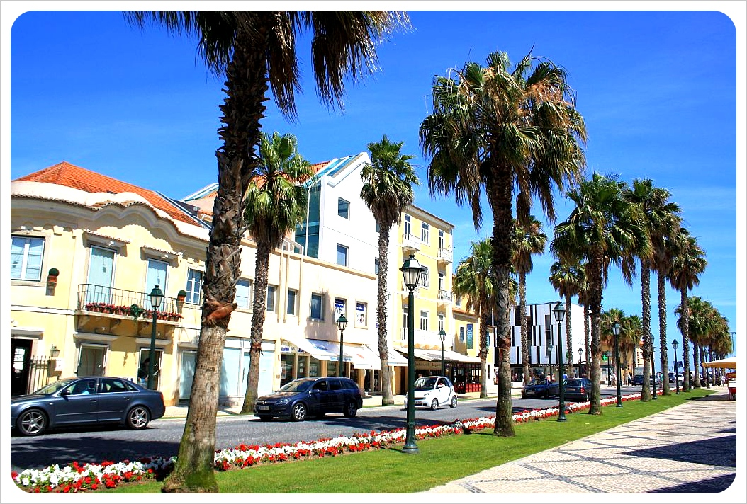 cascais promenade lisbon portugal