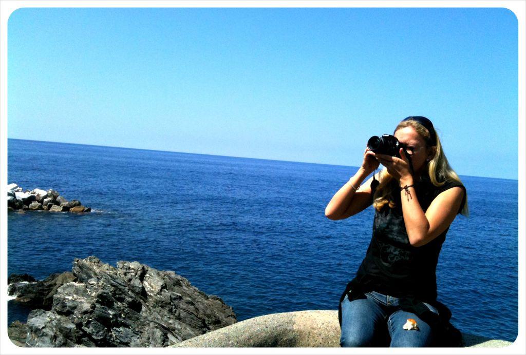 dani with camera