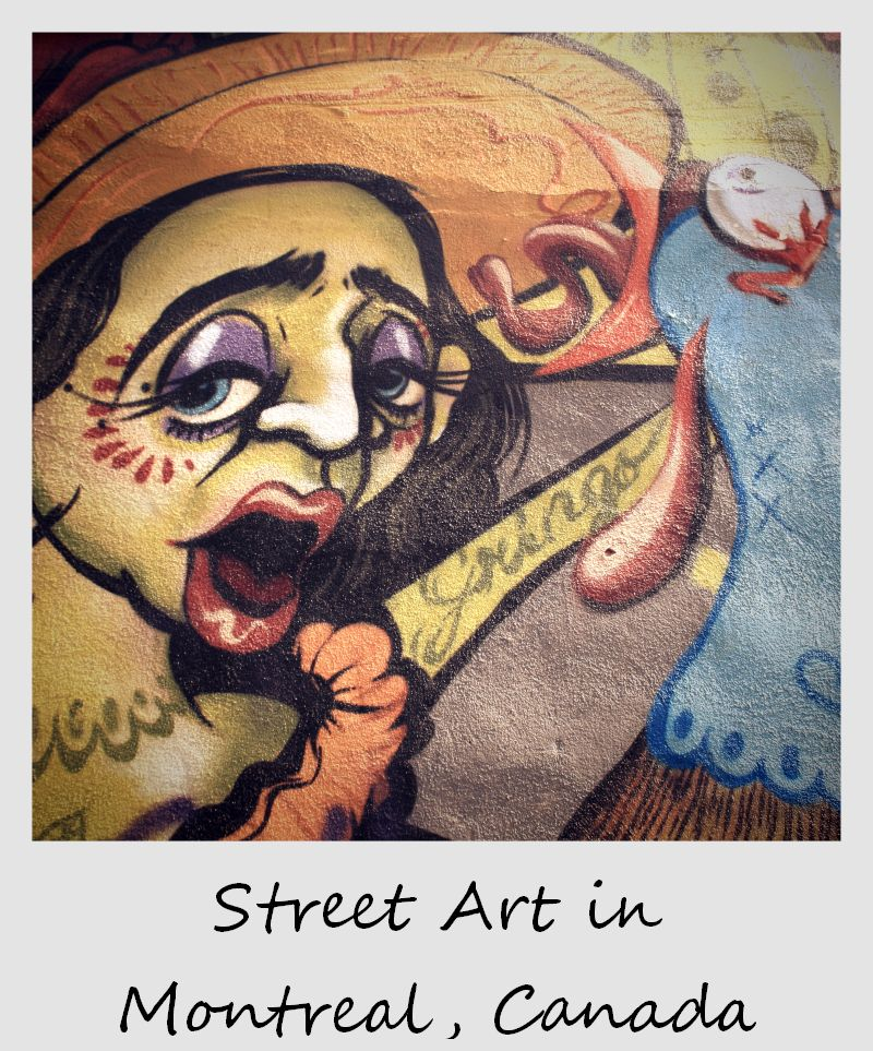 polaroid of the week canada quebec montreal street art