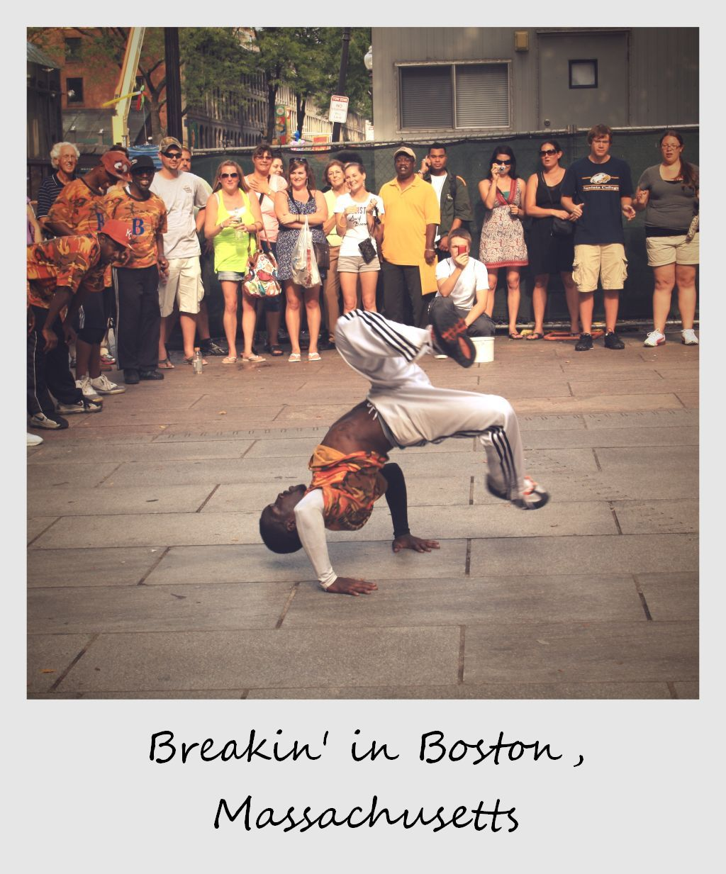 polaroid of the week usa boston break dancer