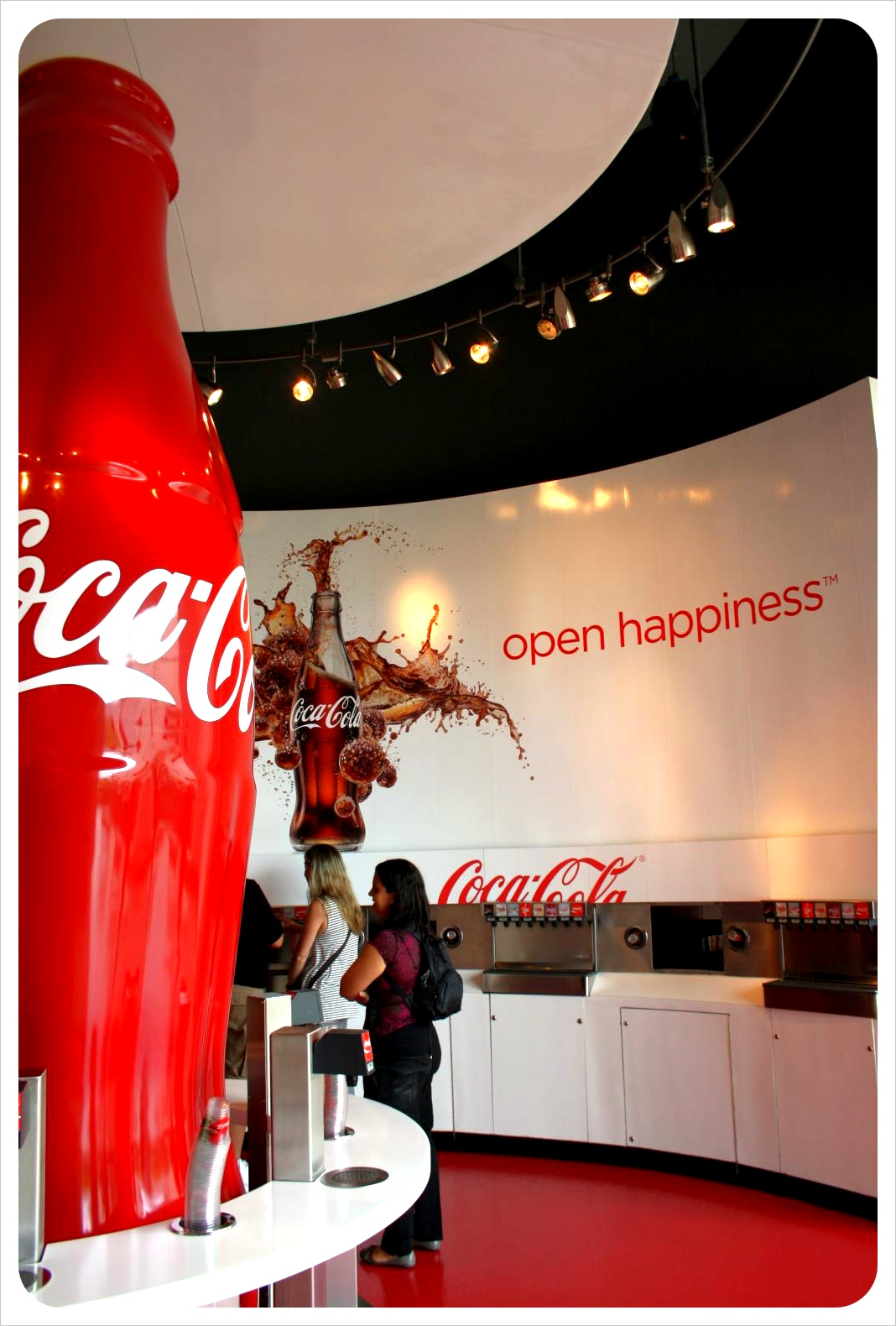 World of coke tasting room