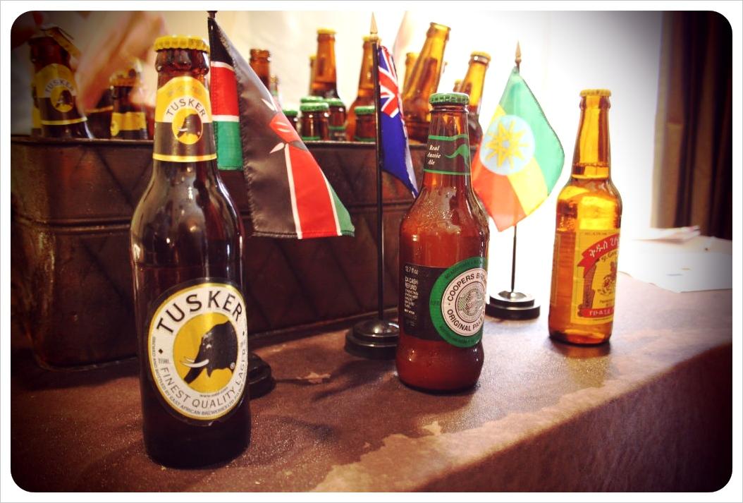 african beers at savannah craft brew fest
