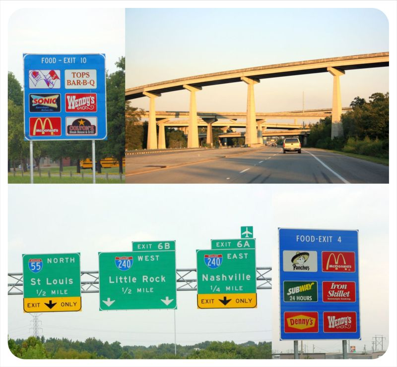 american interstates highways