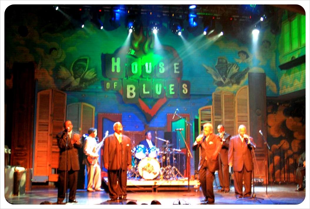 gospel brunch house of blues new orleans singers
