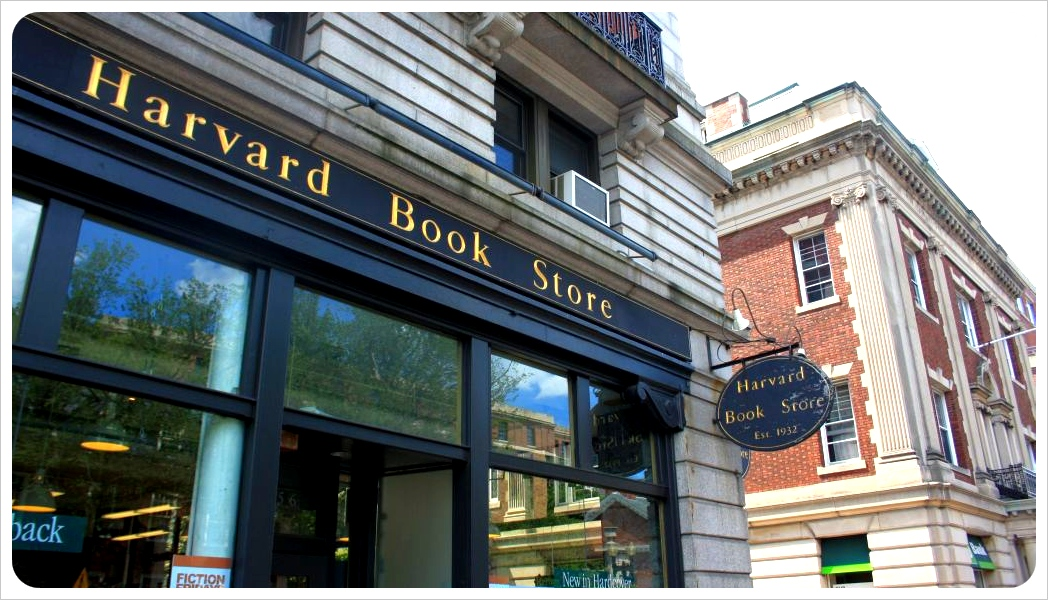 harvard book store in cambridge