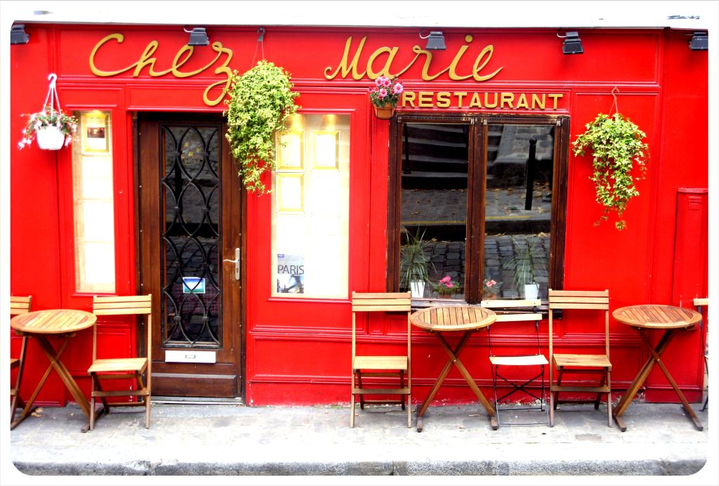 paris chez marie cafe
