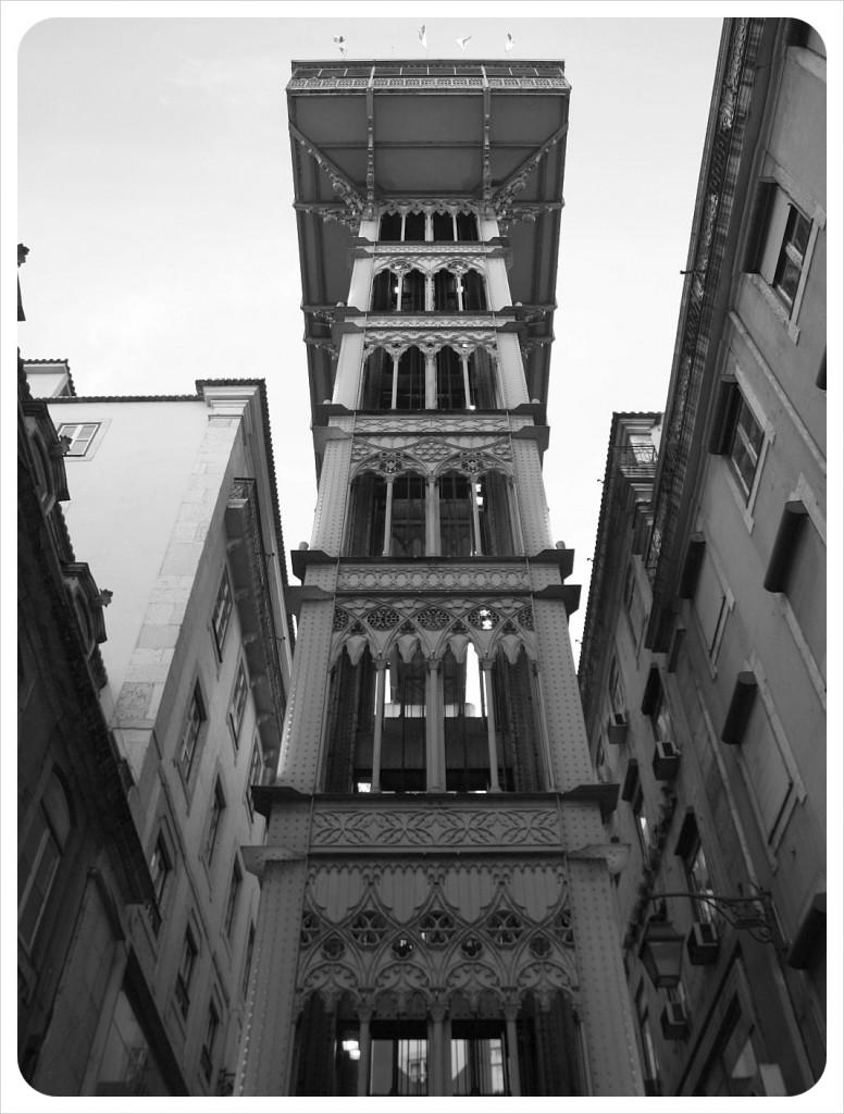 santa justa tower lisbon