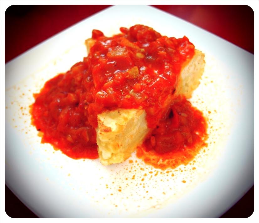 tortilla espanola & Salsa