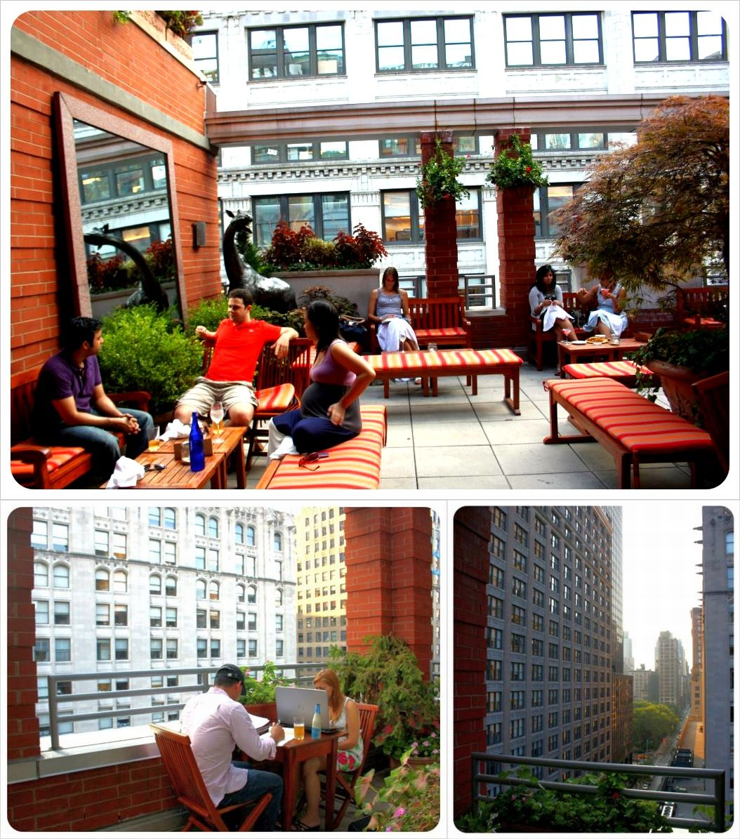 hotel giraffe rooftop new york city