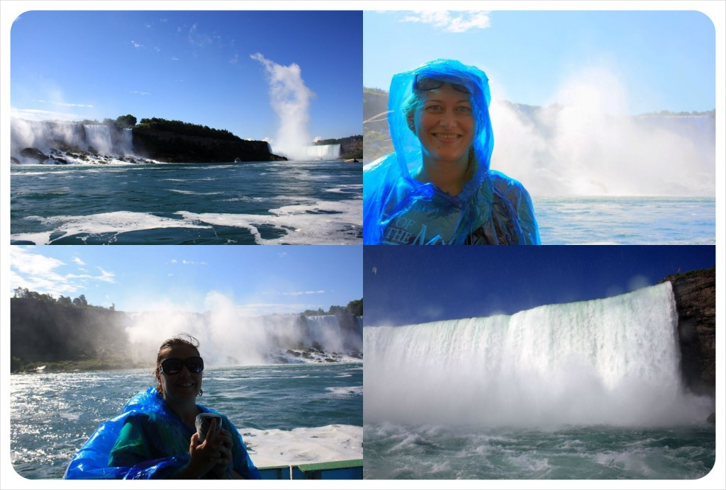 niagara falls from river tour on maid of the mist