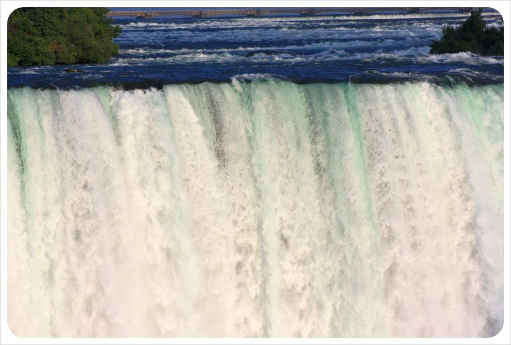 niagara falls horseshoe falls water power