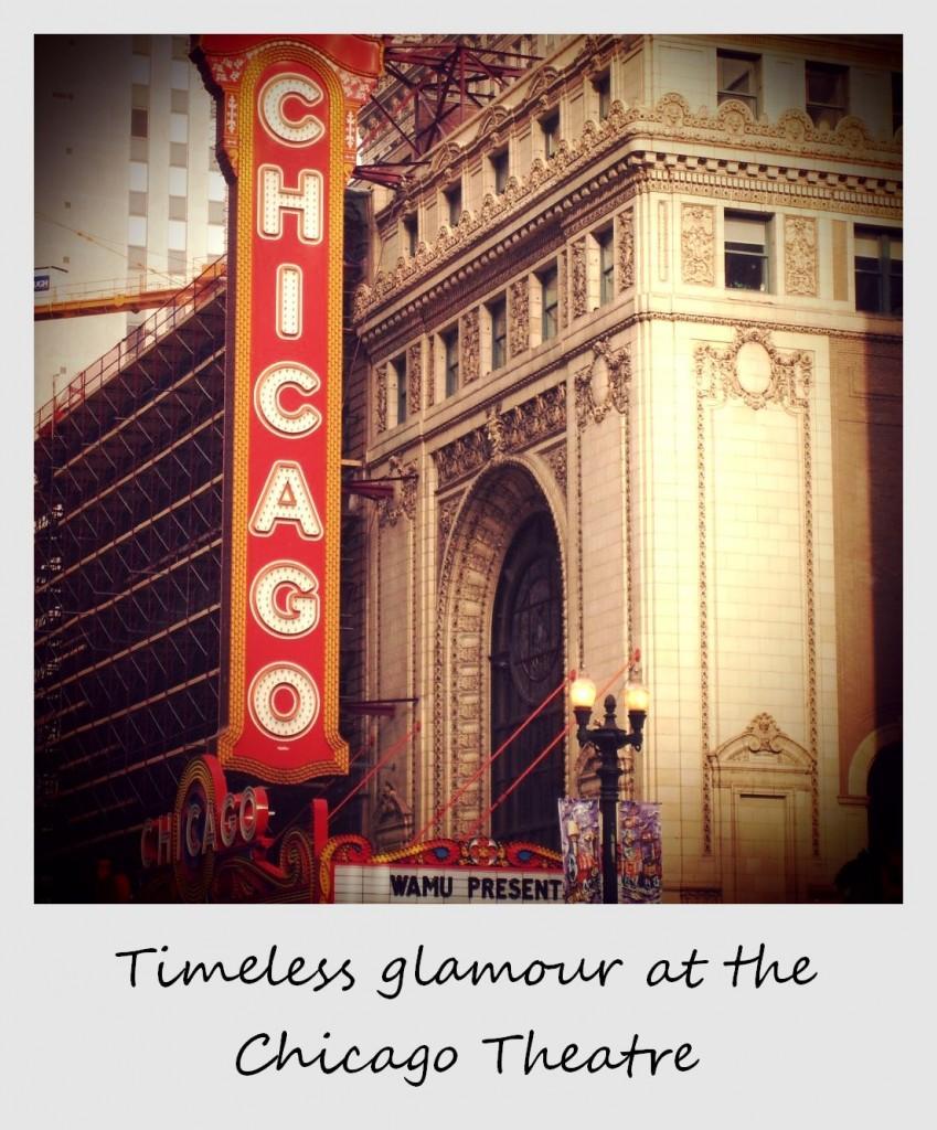 polaroid of the week usa chicago theatre