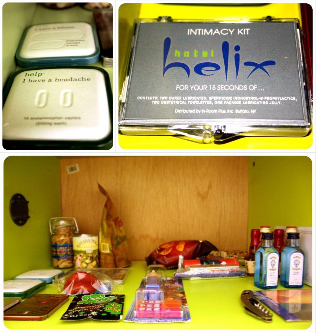 hotel helix washington dc minibar