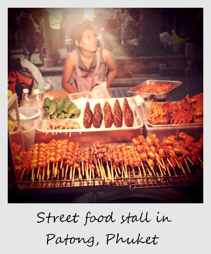polaroid of the week thailand phuket night market
