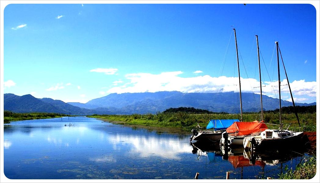 January Lake Yojoa Honduras